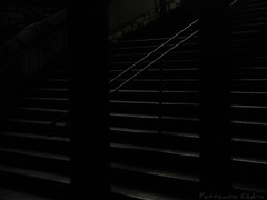 Moon light (cedmars) Tags: city light bw white black france detail night stairs contrast marseille noir photos lumire capital culture nb contraste 12 capitale provence janvier nuit blanc escalier ville inauguration cdric lueur 2013 mp2013 fettouche
