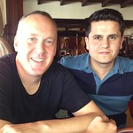 "With Mümtaz at brunch in Kahramanmaraş <a style=""margin-left:10px; font-size:0.8em;"" href=""http://www.flickr.com/photos/59134591@N00/8405325141/"" target=""_blank"">@flickr</a>"