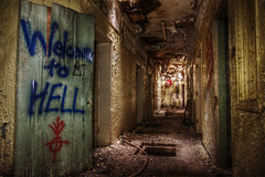Welcome To Hell 2 (carper123) Tags: urban decay grunge sanatorium dereliction