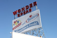 Wonder Bread Hometown Fresh Sign