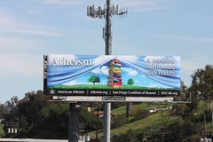 Billboard Jennifer 2 (Skeptical Deb) Tags: atheism billboard atheist sdcor sandiegocoalitionofreason sdcororg