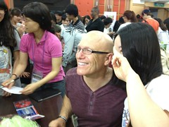 Meeting with Students in Korea