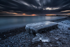 Dinner on Ice (timcorbin) Tags: longexposure winter ontario canada ice canon whitby leefilters
