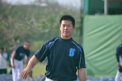 DSC_0408 (mechiko) Tags: 横浜ベイスターズ 130202 鄭凱文 横浜denaベイスターズ