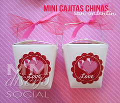 Mini Cajitas Chinas San Valentin (MM Detalles) Tags: san chinas valentin regalitos cajitas personalizadas
