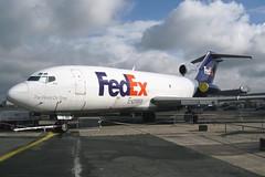 "N166FE | Boeing 727-22F | FedEx ""Brad"" (cv880m) Tags: paris cargo boeing fedex lbg freighter 727 federalexpress lebourget 727100 727f museedelair n166fe"