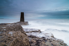 """Rangefinder at Lizard Point below Souter Lighthouse, Whitburn<br /><span style=""""font-size:0.8em;"""">Discussion of the photoshoot and more images in Ian Purves' blog <a href=""""http://purves.net/?p=1302"""" rel=""""nofollow"""">purves.net/?p=1302</a></span> • <a style=""""font-size:0.8em;"""" href=""""https://www.flickr.com/photos/21540187@N07/8462083006/"""" target=""""_blank"""">View on Flickr</a>"""
