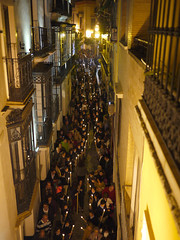 Catholic procession Seville, Spain (michael.robb) Tags: architecture spain seville parasol metrosol