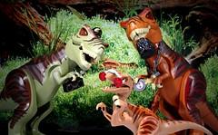 Rap-Tour (Legoagogo) Tags: lego dinosaur trex rapture chichester afol legoagogo
