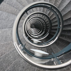 Seventeen Down (@noutyboy (Instagram)) Tags: winter abstract holland eye netherlands stairs canon spiral eos utrecht pov perspective nederland thenetherlands stairwell staircase 17 curl dizzy february trap spiraal spiralstaircase treppen 550 escaliers trappen trappenhuis rijnsweerd provinciehuis nout 2013 550d duizel