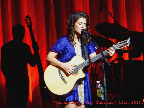 Katie Melua live in Paris ~ February 16th 2013.
