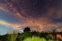 Stary Stary Night (ManButur PHOTOGRAPHY) Tags: longexposure travel light sky bali stone night canon landscape photography star volcano scenery exposure village view explore 7d usm dslr noise 1022mm batur tonal treking threes starstrail manbutur