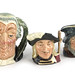 303. Three Royal Doulton Toby Mugs