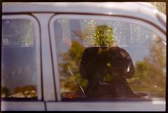 4/52 (catalinhaldan93) Tags: portrait reflection film car self photography photo pentax week fujifilm spotmatic weeks challenge 52 helios