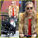 Sienna Miller: Fur Coat Stroll with Marlowe!