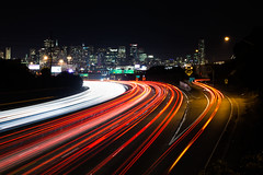 Around the Bend (Bryan Nabong) Tags: sanfrancisco california longexposure northerncalifornia night traffic unitedstates time northamerica lighttrails geography potrerohill