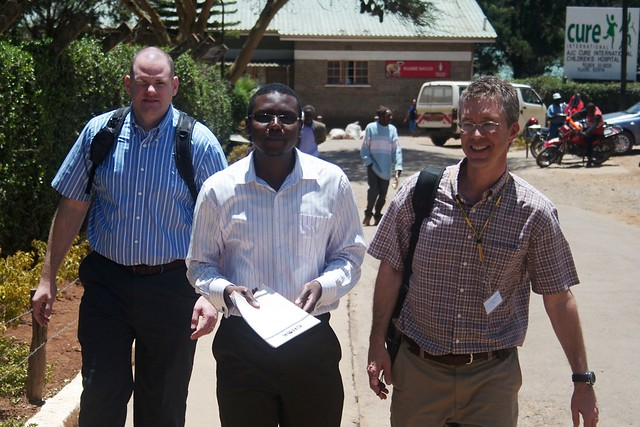 OpenHMIS Team at Kijabe
