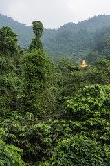 Golden Buddha Statue, Ba V (vnkht) Tags: trees mountains green leaves statue forest landscape lumix nationalpark raw buddha buddhism panasonic vietnam jungle hanoi artifact f71 2012 artefact lightroom bavinationalpark 70mm bavi vitnam hni lx5 bav vnqucgia huyn dmclx5 lightroom4 vnqucgiabav gavinkwhite