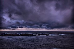 Atlntico - Atlantic (celta4) Tags: ocean sea espaa costa storm water clouds islands mar agua corua day shore nubes islas hdr oceano acorua lacorua