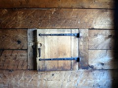 Fort window (Ruth and Dave) Tags: door tower window wall museum wooden fort ramparts shutter fortifications bastion fortlangley reconstruction nationalhistoricsite dwwg