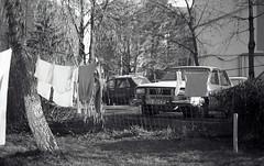Mantaspe_37 (mantaspe) Tags: bw white black film car vintage lomo lomography fuji kodak sunday grain retro romania filmcamera symbols suceava