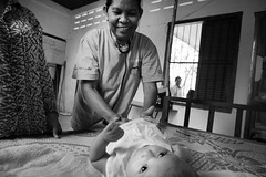 An outstanding midwife – Sokhun – Cambodia (Humanity & Inclusion UK) Tags: cambodia handicapinternational disabilities midwife internationalwomensday 8thmarch childrenwithdisabilities happychildproject