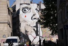 Silence ~ say nothing (JULIAN MASON) Tags: paris france art stencil mural quiet silence placestravinsky jefaerosol saynothing chuuuttt