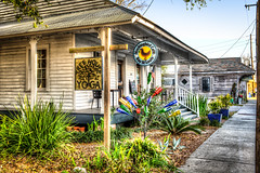 Mockingbird Cafe, Bay St. Louis (Lane Rushing) Tags: building mississippi nikon baystlouis hdr d600 bigmomma mississippigulfcoast 2470mmf28 photomatixpro mockingbirdcafe herowinner