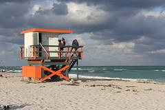 Lifeguard Stand - South Beach - Miami Beach, Fl (twiga_swala) Tags: ocean life rescue usa tower art beach station stand florida miami south sandy watch guard playa landmark lifeguard artdeco fl miamibeach deco iconic southbeach sobe oceanrescue