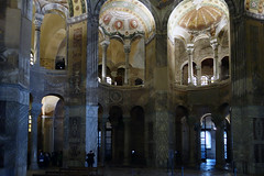 View Across Atrium with Gallery, San Vitale, Ravenna
