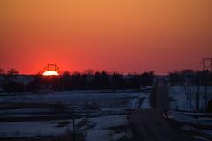 2 (Steve Blum (Weather Weenies)) Tags: sunset crescentmoon panstarrs cometpanstarrs
