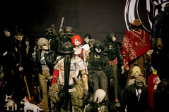 3A Collection (luciferbeck) Tags: china wood shadow lady toy toys cowboy king blind little action zombie ashley dalian 4th tommy queen 3a collection figure jc zomb fighting tomorrow sham tk tq lemmy motorhead ankou rehel threea luciferbeck nom27