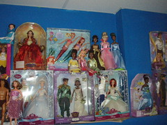 Disney doll collection (EtheraPeril) Tags: blue autumn ariel rose eric doll jane charlotte alice milo tinkerbell disney collection fairy final fantasy captain belle beast cinderella tiana hook wonderland rapunzel esmerelda tarzan briar hercules pocahontas kida tidus ashe tangled mulan rikku sephiroth naveen megara phoebus