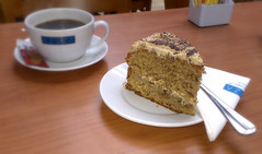 Naughty.... (SteveJM2009) Tags: uk cup coffee cake naughty march cafe nice napkin tasty plate fork hungerford berkshire 77 saucer berks americano stevemaskell azuza 2013 naughtybutnice coffeeandwalnut 113in2013 photographyourlunch twoofmyfiveaday
