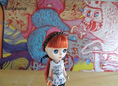 Aisha na Bienal de graffiti!!