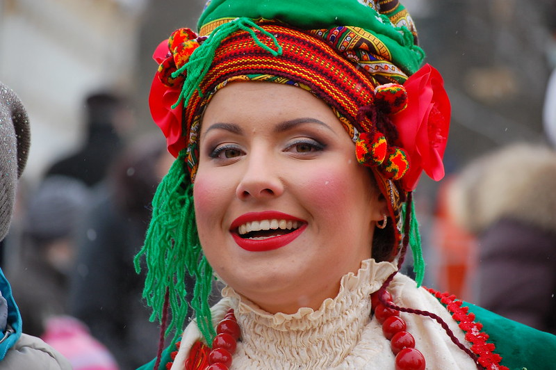 """Woman in traditional ukrainian clothes<a href=""""http://www.flickr.com/photos/28211982@N07/8572367523/"""" target=""""_blank"""">View on Flickr</a>"""