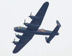 Lancaster bomber (Colin__Murray) Tags: uk england sky fly flying force air royal aeroplane lancashire airshow lancaster ww2 bomber southport raf merseyside