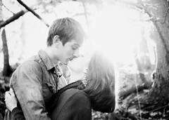 The Spark (Jecart22) Tags: light cute love nature beautiful sunshine outdoors engagement illinois kiss couple romance together lensflare romantic forever engaged oswego