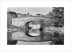 bridge (John Clinch) Tags: bridge reflection canal path union bedfordshire buzzard tow leighton bedfordshiregrandunioncanallocalwalk bedfordshiregrandunioncanallocalwalkgrand