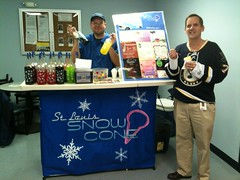 "St. Louis Snow Cone - Celebrating the Blues home opener! • <a style=""font-size:0.8em;"" href=""http://www.flickr.com/photos/85572005@N00/8590006207/"" target=""_blank"">View on Flickr</a>"