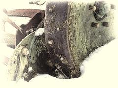 Snow Mow (Phutball) Tags: snow lawn mower sutton bonington canonsx50
