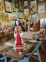 Doll & Artist (Been Around) Tags: shop vacances europa europe doll artist travellers eu bulgaria puppe velikotarnovo bulgarien kukla 2013  concordians thisphotorocks  worldtrekker  expressyourselfaward welikotarnowo mygearandme velikotarnowo velikoturnowo ulitsagsrakovski samovodskacharshiyastreet