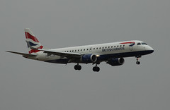 British Airways ERJ-190 (FuriousGM) Tags: uk sky cloud weather plane airplane scotland flying airport glasgow aviation transport aeroplane civil commercial airline ba britishairways airliners 190 gla embraer baw emb erj erj190 glasgowairport civilaviation egpf embraererj190 glcyk