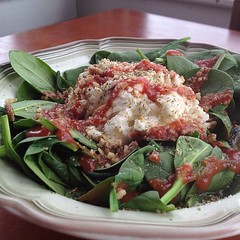 Gluten Free Thursday: Ricotta Pecan Spinach Salad