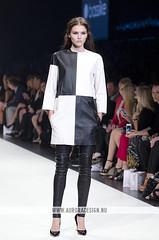 LMFF 2013 - R5 Harper's Bazaar - Bassike (Naomi Rahim (thanks for 5 million visits)) Tags: white black fashion check australia melbourne docklands runway aw fashionweek pleather harpersbazaar 2013 lmff lorealmelbournefashionfestival bassike runway5 naomirahim