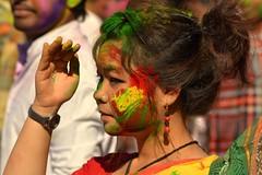 Holi 2013 (anichat84) Tags: holi santiniketan dolyatra