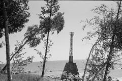 001566650011 (putjka) Tags: kiev4 analog film filmphotography kodak tmax100 bw retro kurmrags lighthouse latvia beach