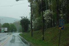 CR 137 Sign (formulanone) Tags: road rain sign alabama pentagon 137 dekalbcounty cr137 al117