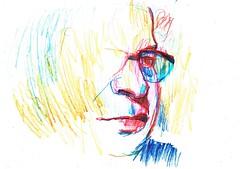 VIBRACIONES (GARGABLE) Tags: portrait sketch retrato drawings dibujos apuntes gargable angelbeltrn