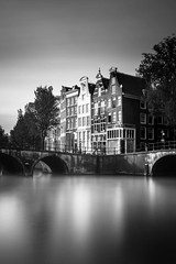 Amsterdam, Keizersgracht (IvoKee) Tags: amsterdam keizersgracht longexposure